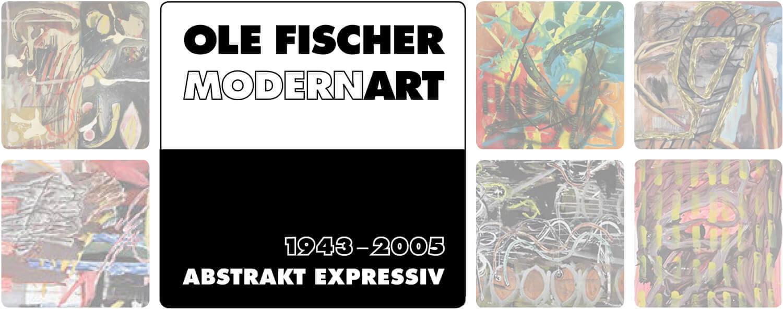Splash Screen für Ole Fischer Modern Art Ausstellungen 2018